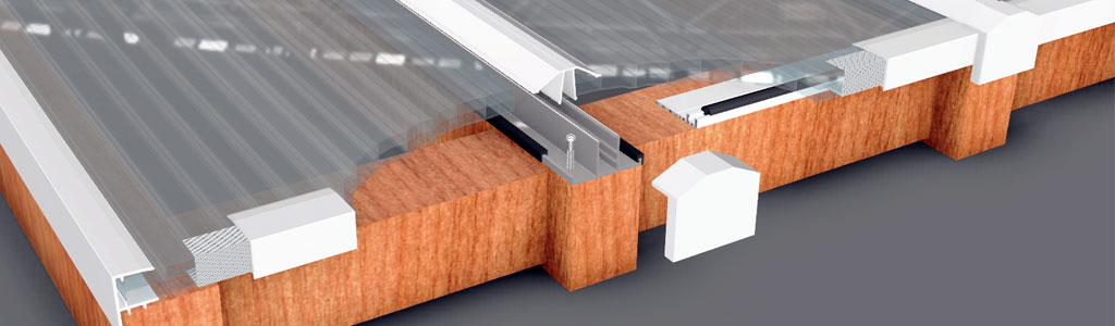 P700 Snap-fit Glazing Bar