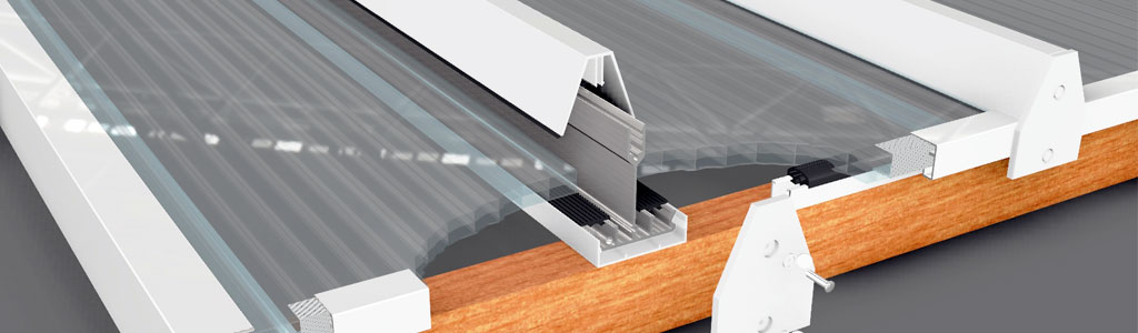 P600 Snap-fit Glazing Bar