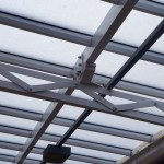 Close up of the Multi-Link-Panels fitted with GW Polycarbonate