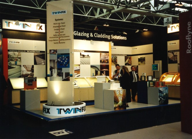 Exhibiting at Interbuild - in the days when everyone attended Trade Shows