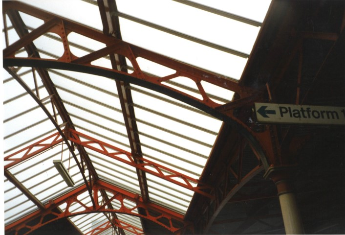 Multiwall polycarbonate has always been a popular choice for Railway Station canopies