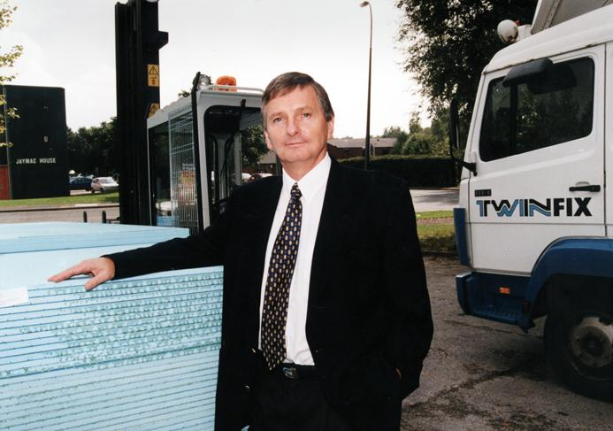 Graham Kench who led the company for 23 years