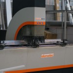 CNC profile machining centre, capable of full automatic machining of profiles up to 7000mm