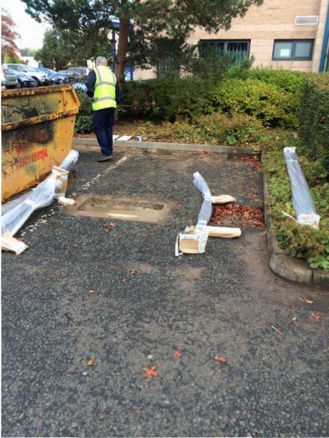 Foundations in place