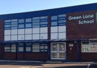 The new Twinfix walkway at Green Lane School