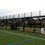 Great weather protection for spectators, coaches and substitutes