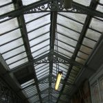 The 'old' Georgian wired glass roof