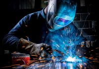 One of our welders at work
