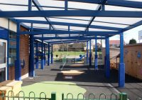 Aluminium framed School canopies