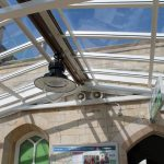 Can you spot an Access Hatch in one of our 6mm Multi-Link-Panel NF rooflights?