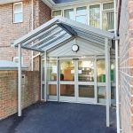 Healthcare Entrance Canopy