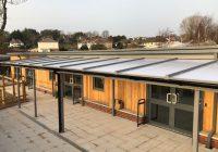 Pathfield School Twinfix Canopies